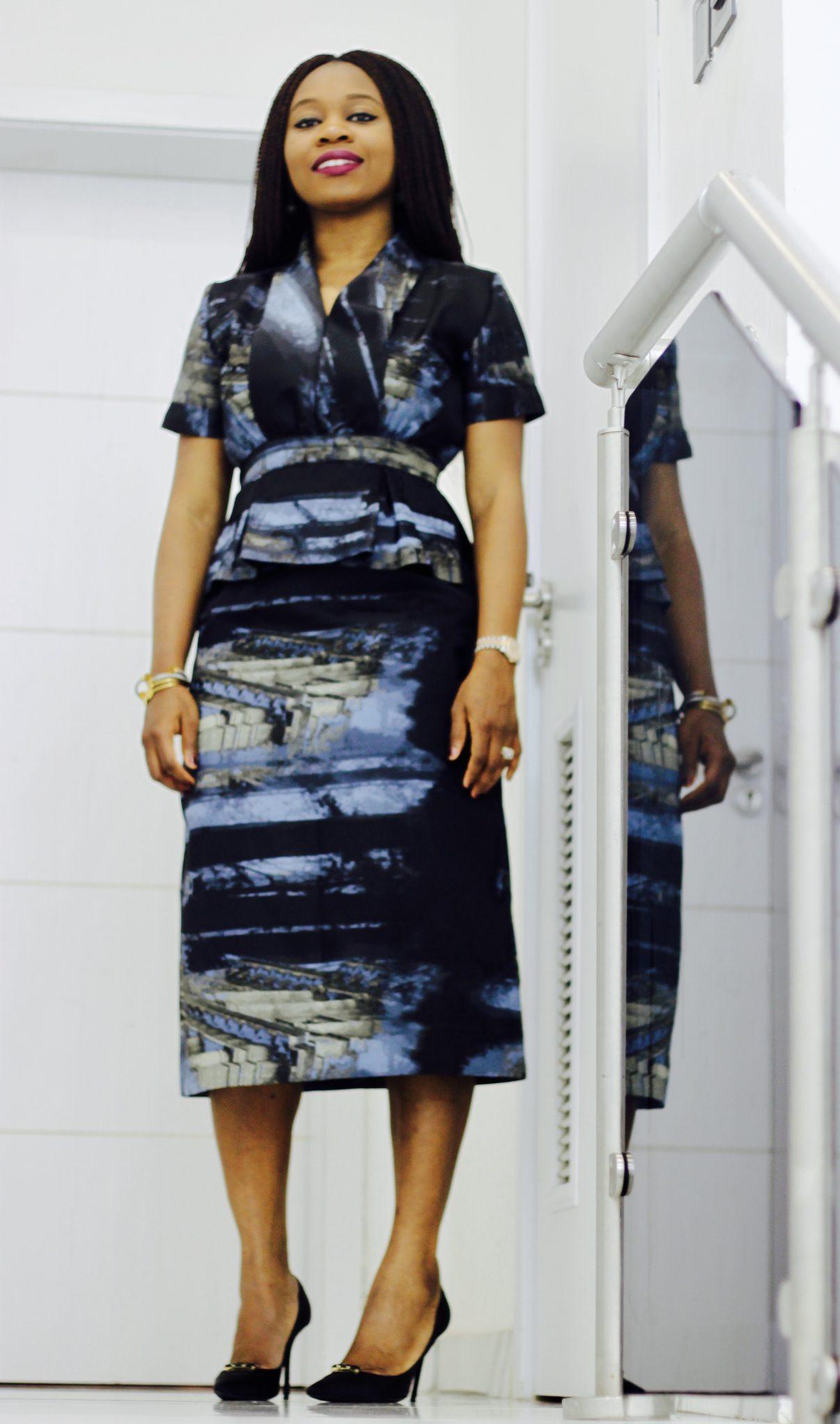 Bluesy Dress