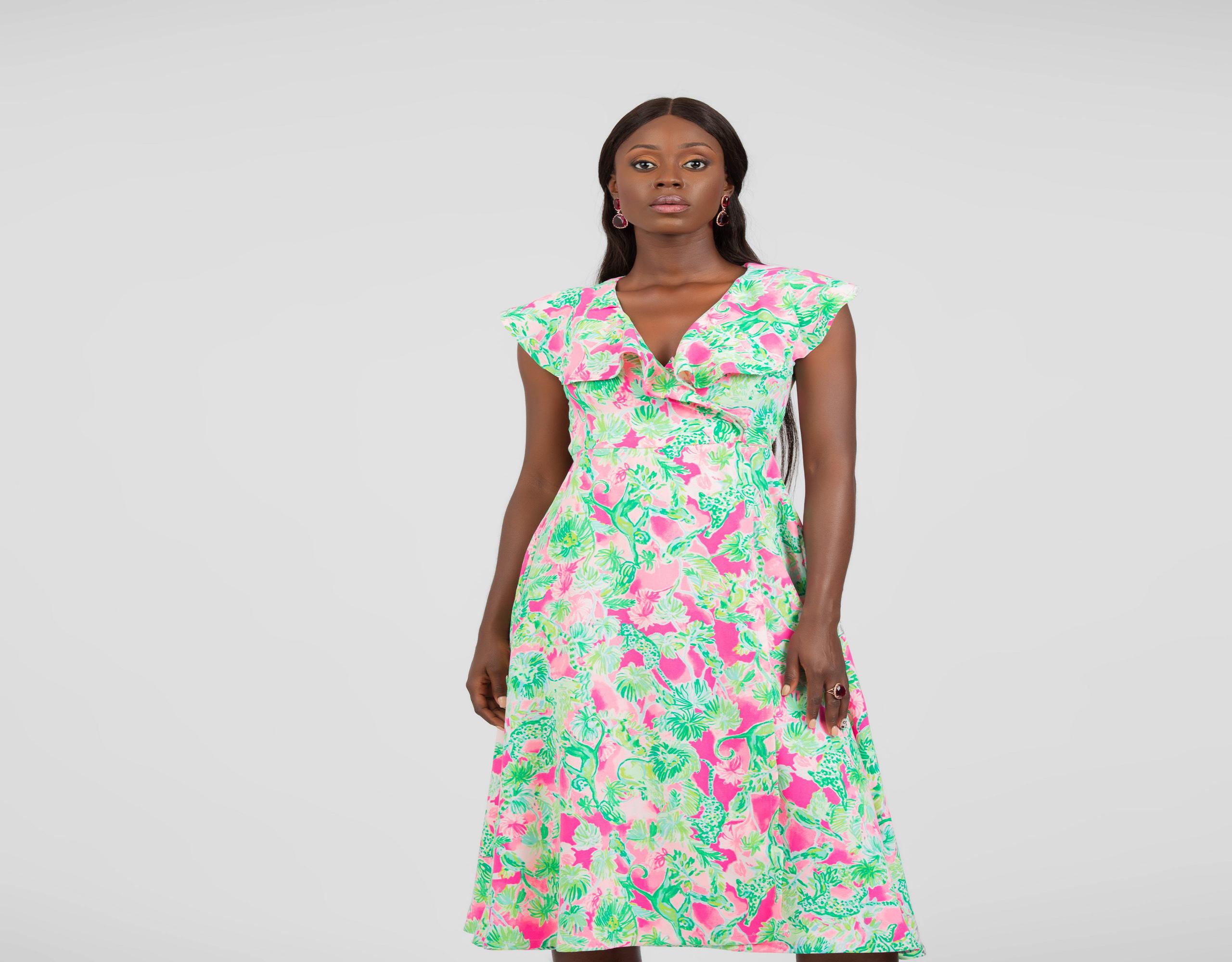 Abiola Wrap Dress