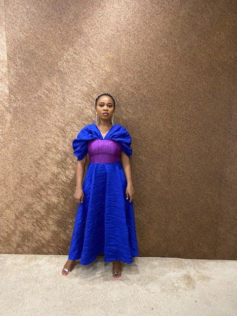 Modupe Colour Block Dress