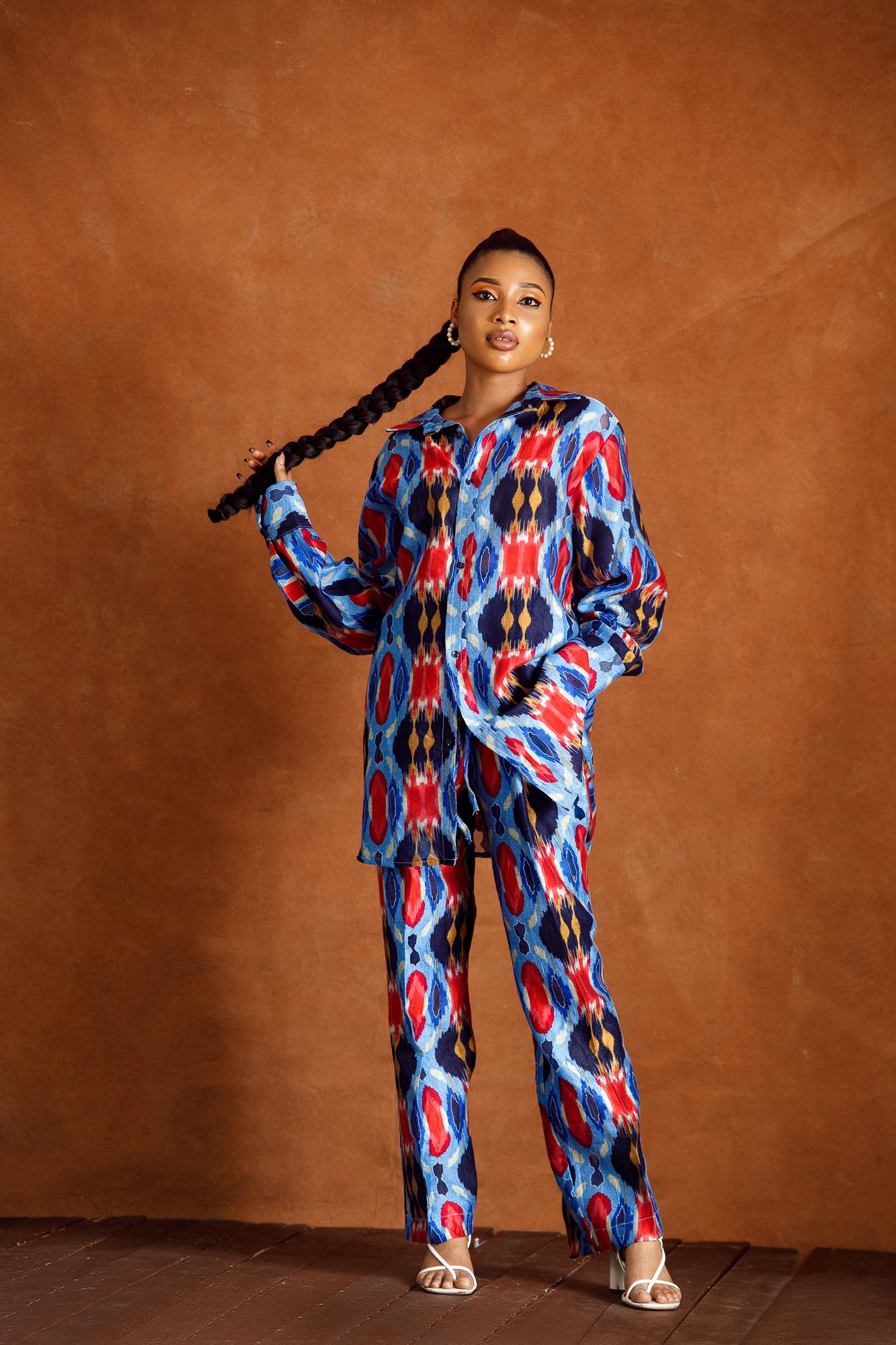 Ifeanyi Shirt/Trouser Set (Multicolored)
