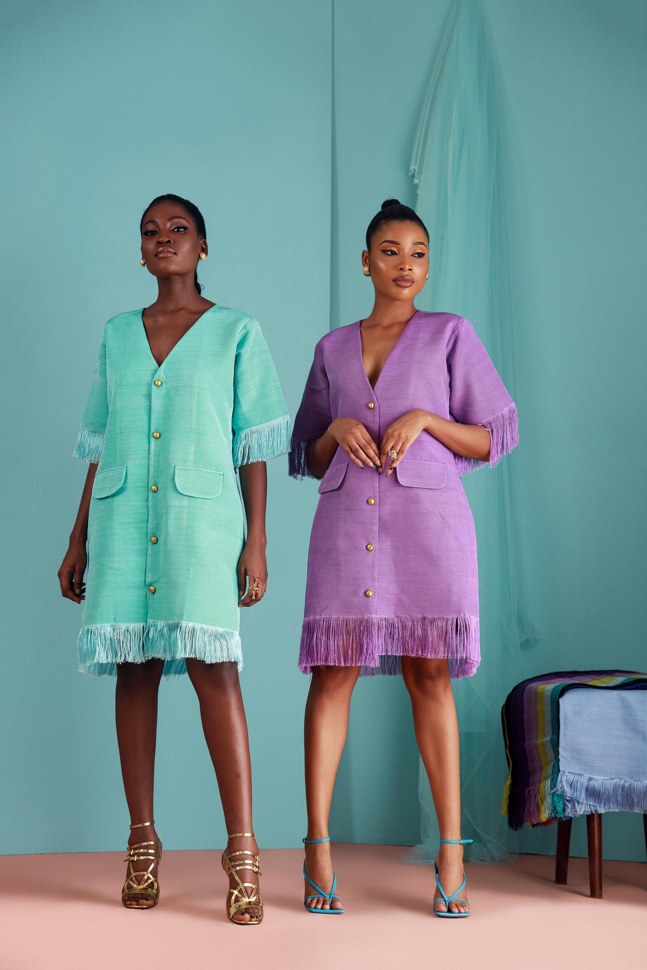Layo Handwoven Blazer Dress (Pre Order)